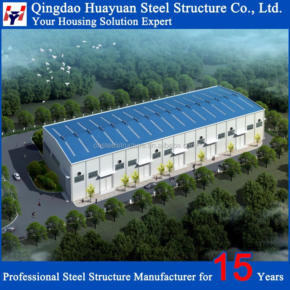 China Prefabricated Finished Warehouses