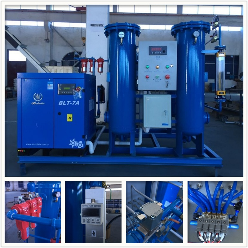 High Automatic Reliable Quality Oxygen Plant Setup