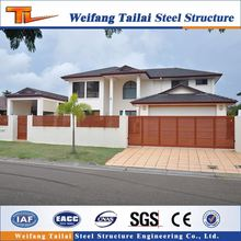 low prices light integrated prefabricated light steel structure frame house villa