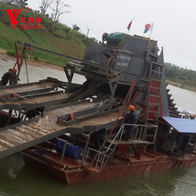 2018 Africa popular model bucket chain sand dredger for sale