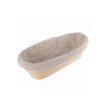 High quality oval bread form with liner