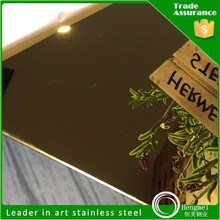 stock price black titanium 304 polished mirror finish stainless steel sheets for construction building