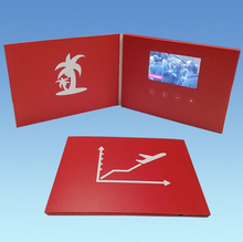 customized 5.0inch lcd TFT Video Player Brochure
