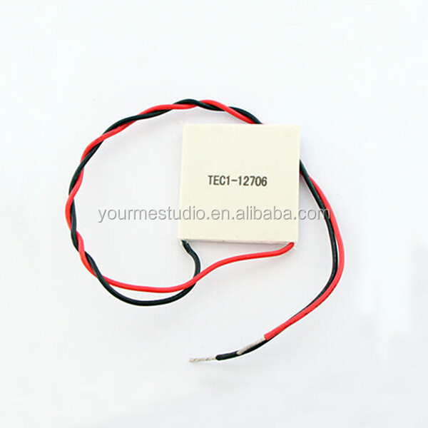 New Chip 40*40MM TEC1-12706 12V 6A 70W Peltier Thermoelectric Cooler For Water Dispenser