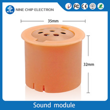 Round pcb voice recordable module programmable random music song module