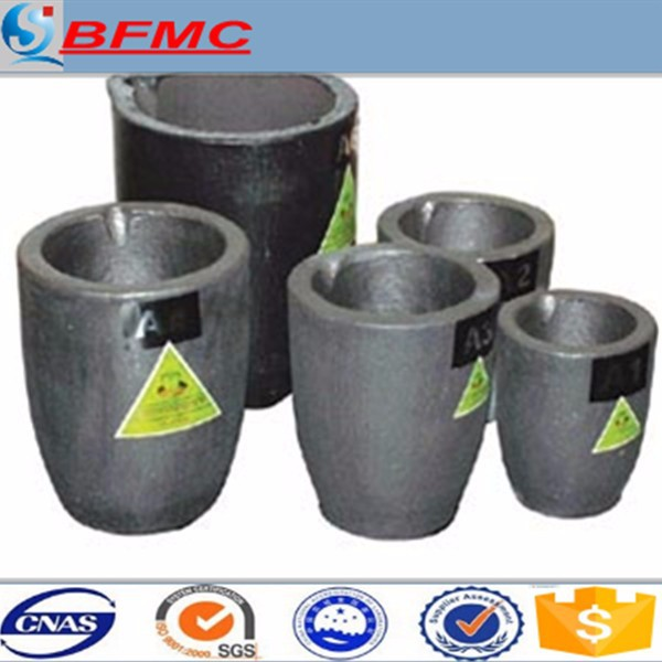 silicon carbide graphite crucible for smelting