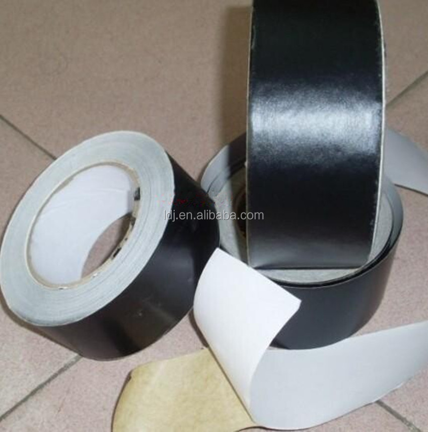 black fiberglass insulation Aluminum foil tape