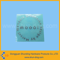 Adhesive gold / silver letters label sticker