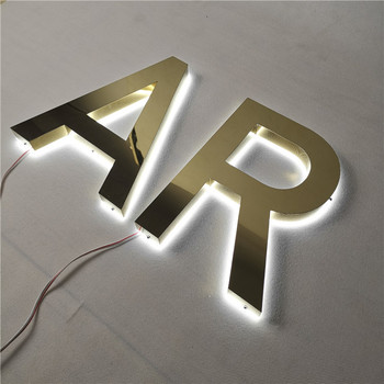 Vintage Sign Letters Metal Channel Letter LED Channel Letter