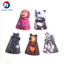 Sedex audit factory plastic finger puppet, rubber finger puppets