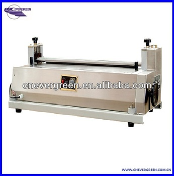 China manufacturer table model paper gluing machine