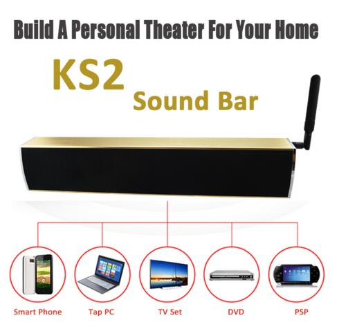 Home Theatre System Android 5.1 TV Box 4K TV Output KS1 KS2 Sound bar with Speaker and DVB-T2