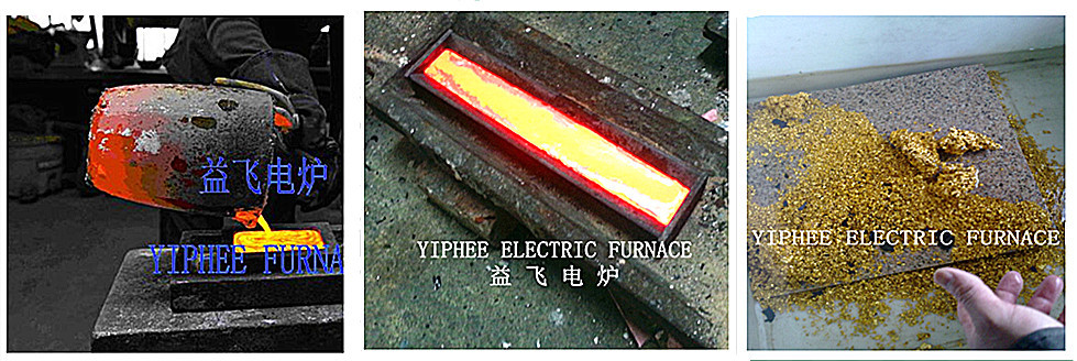 Small Melting Furnace / Metal Scrap Small Electric Furnace