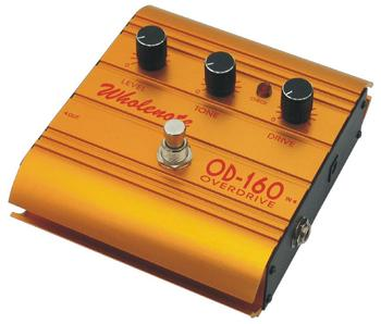 Newest Overdrive effect pedal with excellent appearance OD-160 for guitar