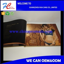 photo bulk cheap product catalog/underwear cloth clothes catalog printing/sexy cool magazine brochure printing