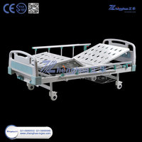 2 cranks Manual Hospital Bed for Cheap price on sale ZHF-HB201