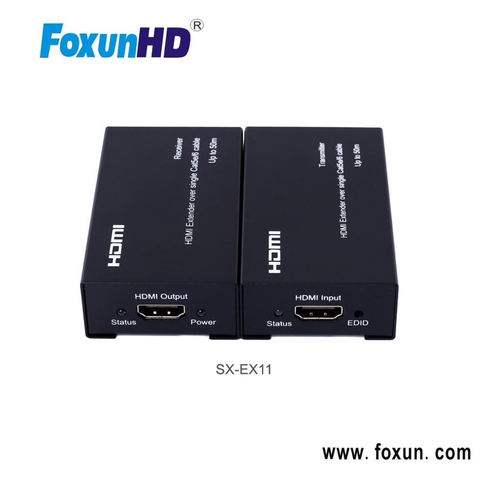 50m HDMI Extender over single cat5e/6 Easy installation, no need setting
