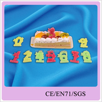 animal shaped fancy number birthday candle