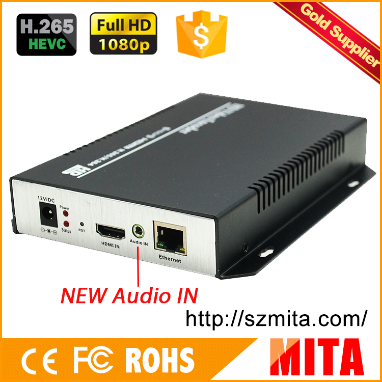 HD h.265 hdmi capture hardware encoder for Live Streaming