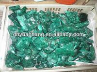 Cheap Natural Green Malachite quartz crystal Carvings Tumbled Stones,malachite stones for sale