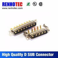 PCB Gold Plated R/A 5 Pin and Straight 8pin Male DB D-sub Connector