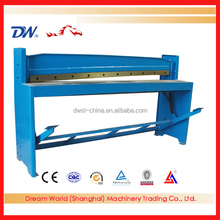 "China Hot Sale Foot Operated sheet metal cutting and bending machine , 52"" small foot operated shear machine"