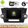 Aosino quad core Android 5.1 car dvd radio gps fit for TOYOTA Highlander WITH CHIPSET WIFI 3G INTERNET DVR OBD2 SUPPORT
