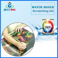 Scratch off ink for screen printing