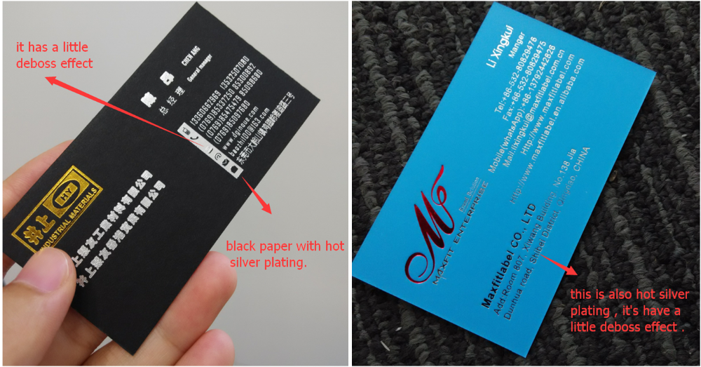 China custom high quality paper hang tag