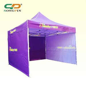 SongPin Customized 10x10 ft Pop Up Canopy Tent Events Aluminum Advertising Folding Tents