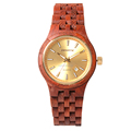 Eco Friendly natural wooden watch luxury wood watch custom logo