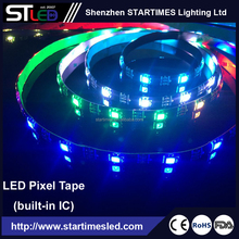 5M WS2812B Led Black PCB Digital RGB strip Individually Addressable 5V