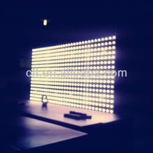 P5 booth adopted rental movable triangle led display screen