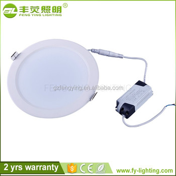 9w 4 inch aluminum trimless downlight