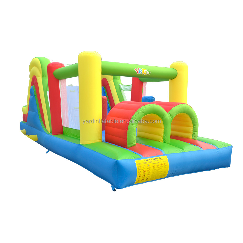 YARD backyard inflatable bouncer bounce house jumper obstacle course for kids