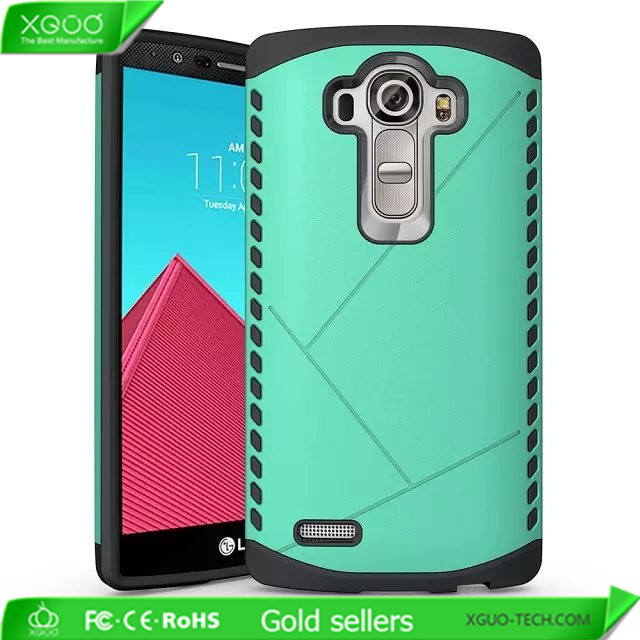 Soft tpu case for Lg g4 hybrid cover