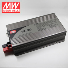 Mean Well True Sine Wave DC-AC Power Inverter TS-400 Series TS-400-248B 400W 10A 48V DC AC Inverter