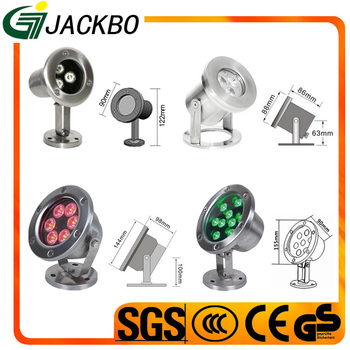 Excellent RGB led light high quality waterproof fountain light for hot sale