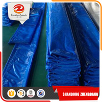 Awning fabric waterproof Blue/white Pe Tarpaulin sheet