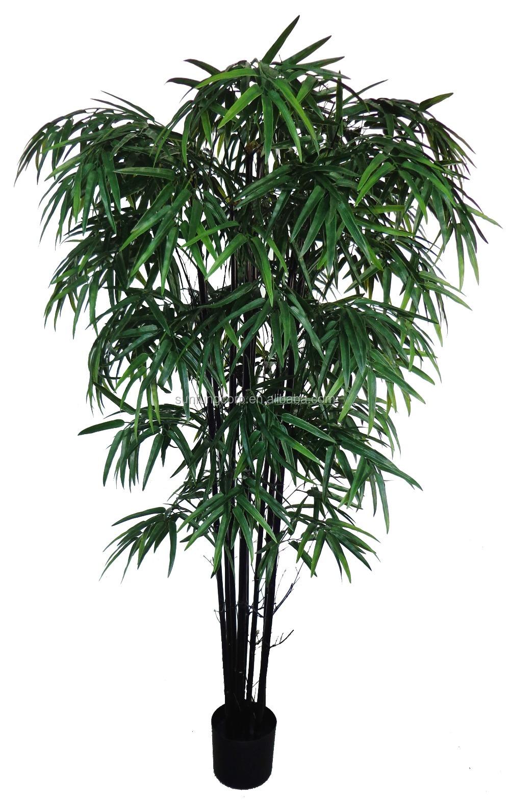 Qualit artificielle bambou arbre pour jardin d coration for Arbre artificielle