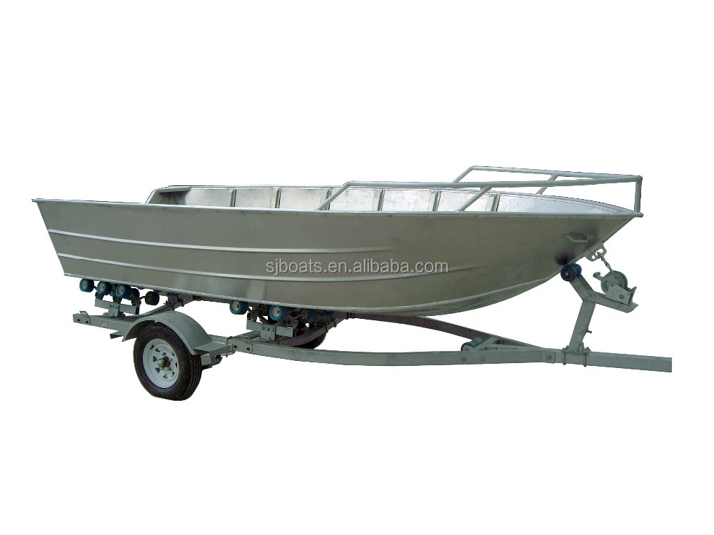 New model aluminum fishing boats with 5083 grade for sale for Fishing carts for sale