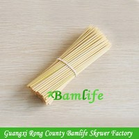 Quality hotsell skewer china bamboo fruit stick