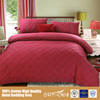 Wholesale Luxury Design Quilting Seam Bed Comforter Sets/Ribbon Border Decorate Hotel Bedding Sets/Pillow Case Picture