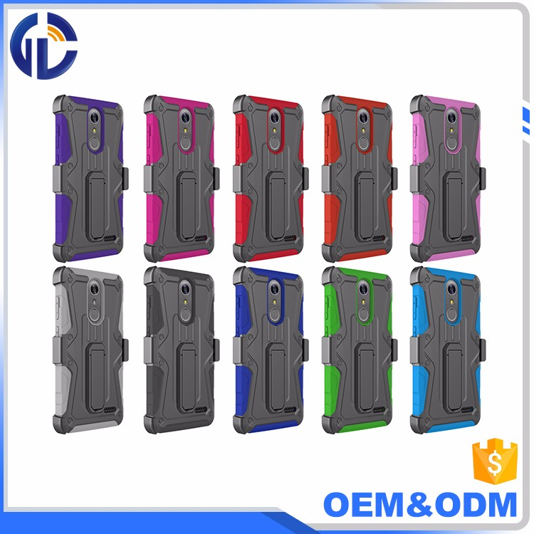 Good quality 3 in 1 new brushed holster combo case for ZTE GRAND X4 z956