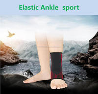 high quality elastic ankle leg support guards strap brace sports protective bandage football ankle support