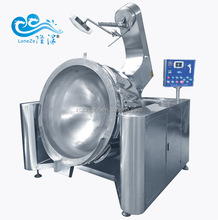 Industrial Commercial Cooking Kettle With Mixer Food Mixing Machine