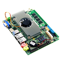 Nano ITX 1080P LVDS panel pc motherboard with onboard core haswell core i3/i5/i7 processor