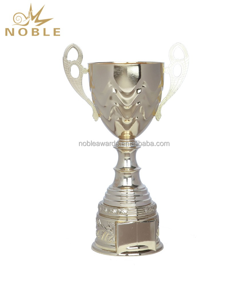 World Globe Big Metal Cup Trophy Award