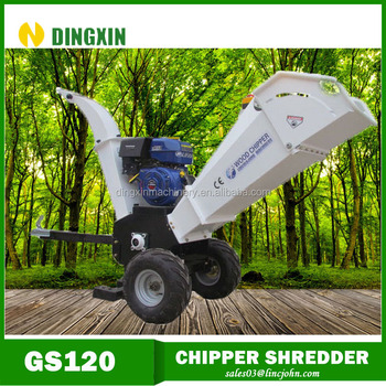 petrol engine garden wood shredder for sales