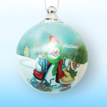 Inside painted ball for Christmas Tree christmas ball ornaments